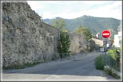 Vue générale du parking de la Citadelle