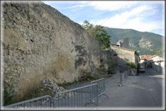 Vue rapprochée du parking de la Citadelle