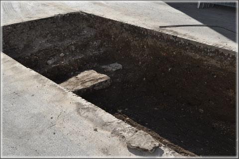 Fouilles archéologiques préventives place de la République 10