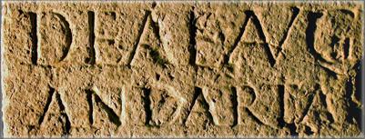Tablette Dea Augusta Andarta