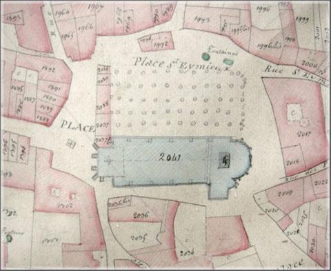 Cadastre napoléonien de la ville de Die
