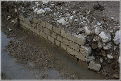 Le mur en « petit appareil »