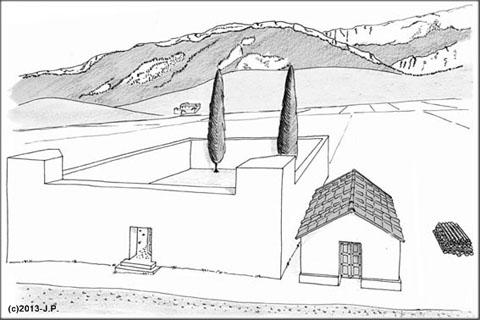 Découvertes du Plot à Die : un ensemble funéraire romain
