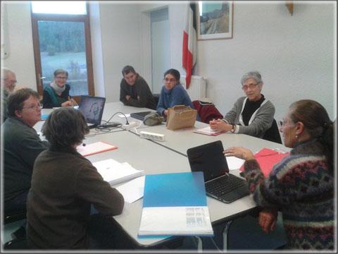 Rencontre des généalogistes du 8 décembre 2013.