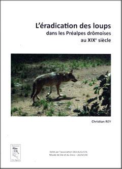Couverture Les loups dans les Préalpes drômoises
