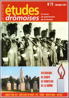 Études Drômoises n°72 - Au feu ! - 2017 - couverture